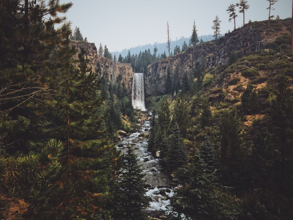 The Tumalu Falls are one of the main Bend Oregon Attractions and shouldn't be missted