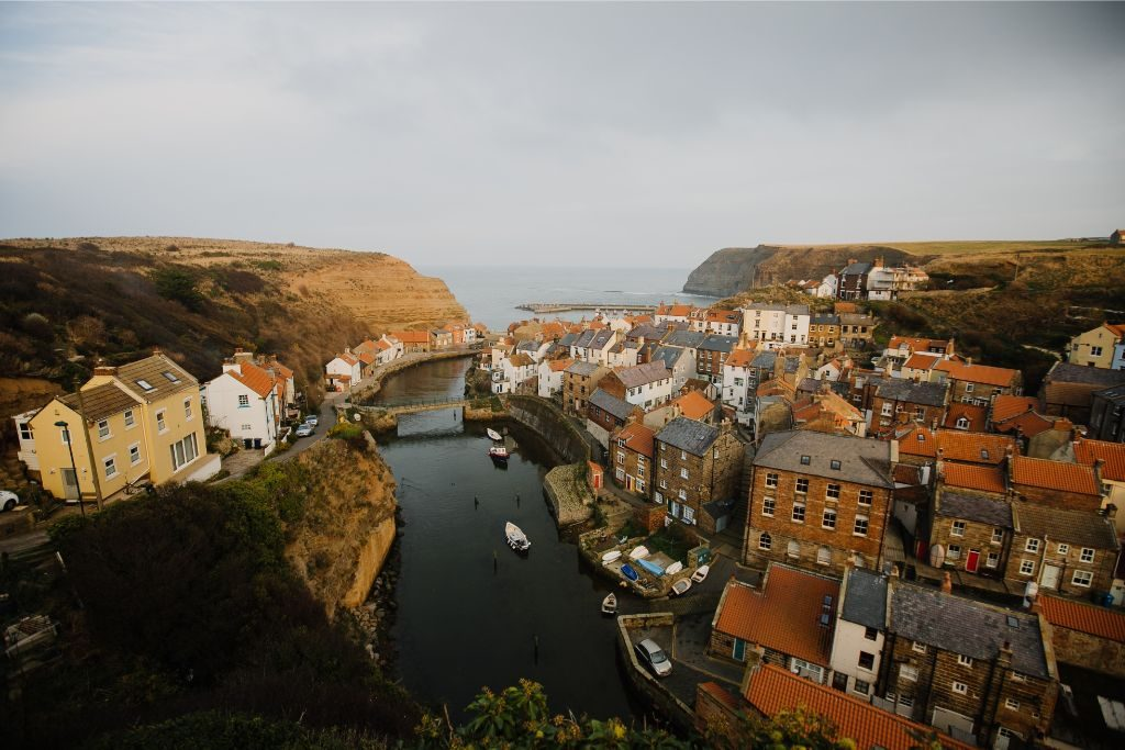 The village Staithes is one of the best places to visit on the North Yorkshire coast