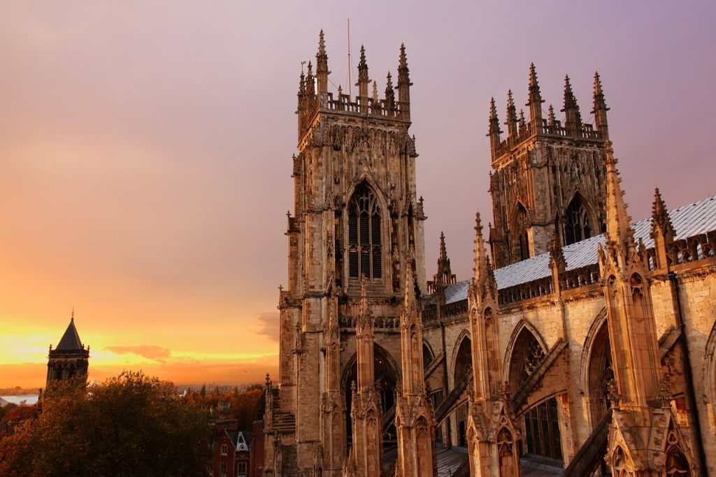 York Minster is the tallest buidling and one of the best things to see in Yorkshire