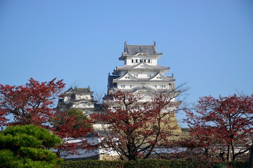 Himeji Temple in Japan is a great activity with kids
