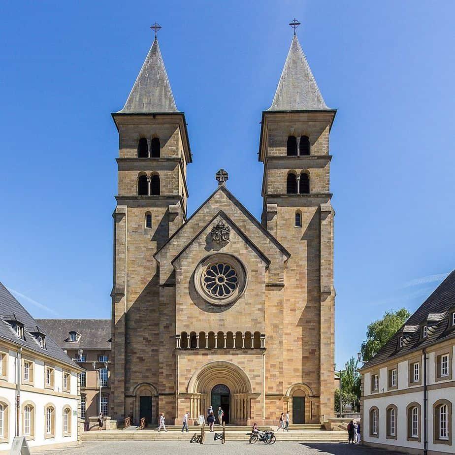 Echternach Eternach Abbey - attractions in Luxembourg City