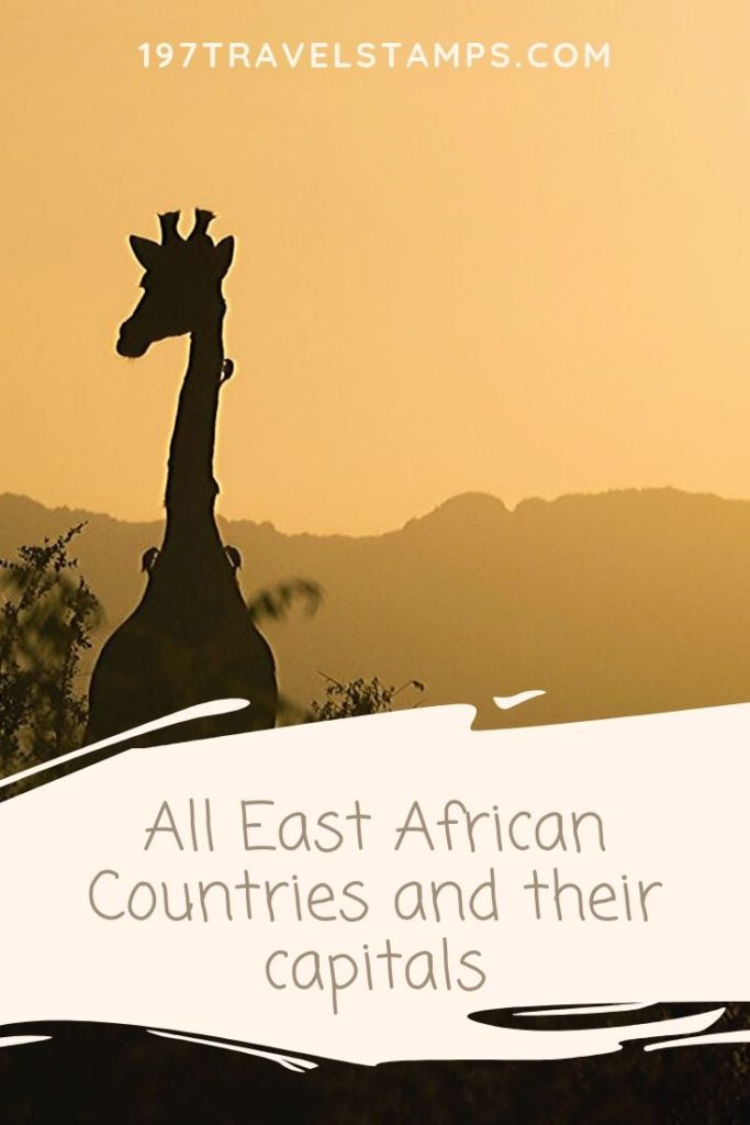 List of East African Countries and Capitals, currencies and their population