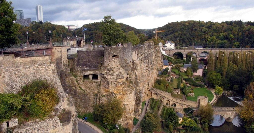 The Bock Casemates - one of the top tourist attractions in Luxembourg City