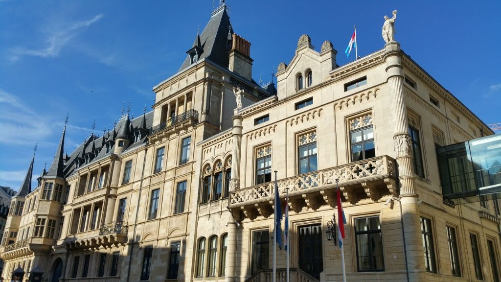 The Grand Ducal Palace or Palace of the Grand Duke in Luxembourg City