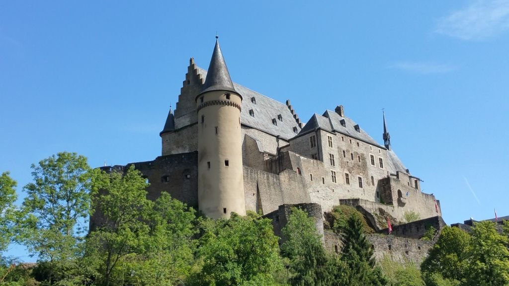 Vianden Castle is one of the top attractions and sights in Luxembourg