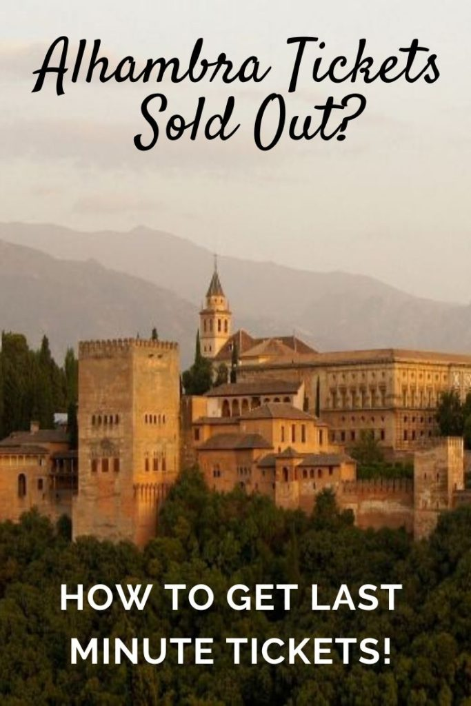 Are all Alhambra tickets sold out for your dates - we have the solution for you. Check out our overview how to buy last minute Alhambra tickets even when they are sold out on the official website