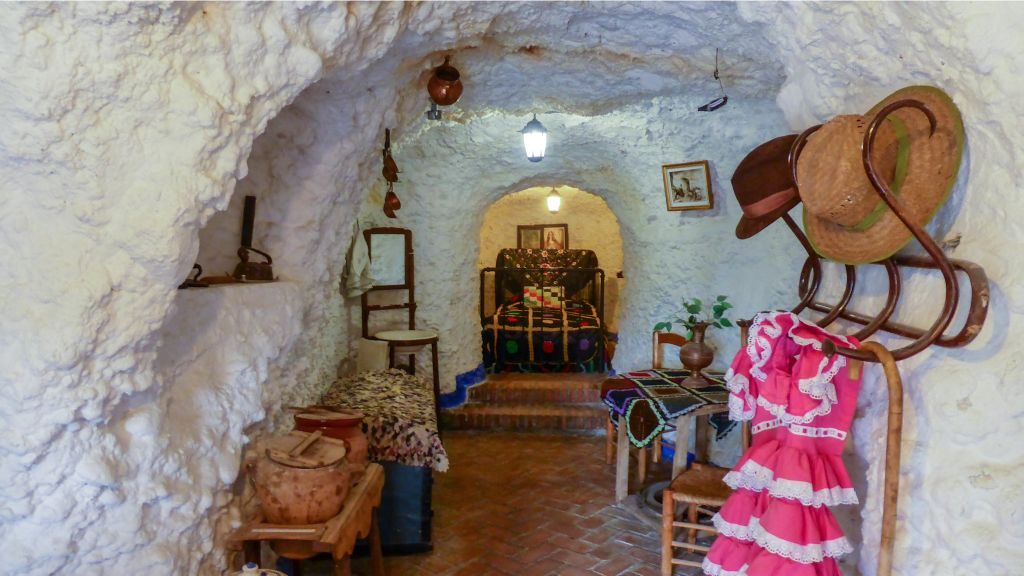 Cave house in Sacromonte
