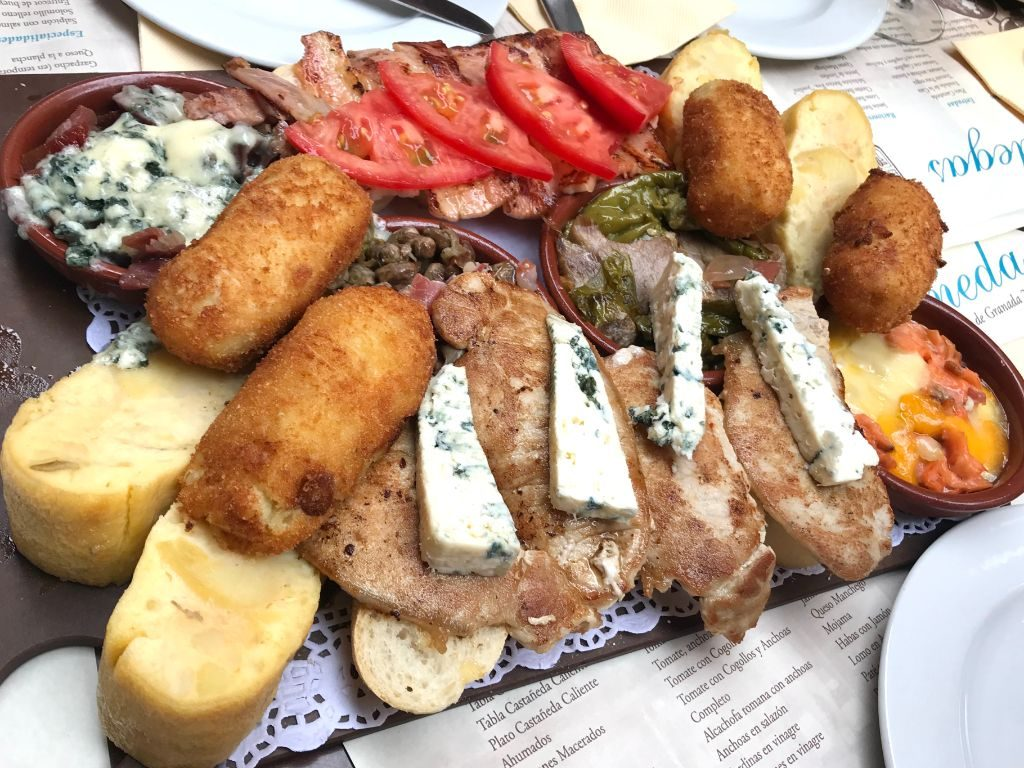 Delicious tapas in Granada - a must have for every itinerary