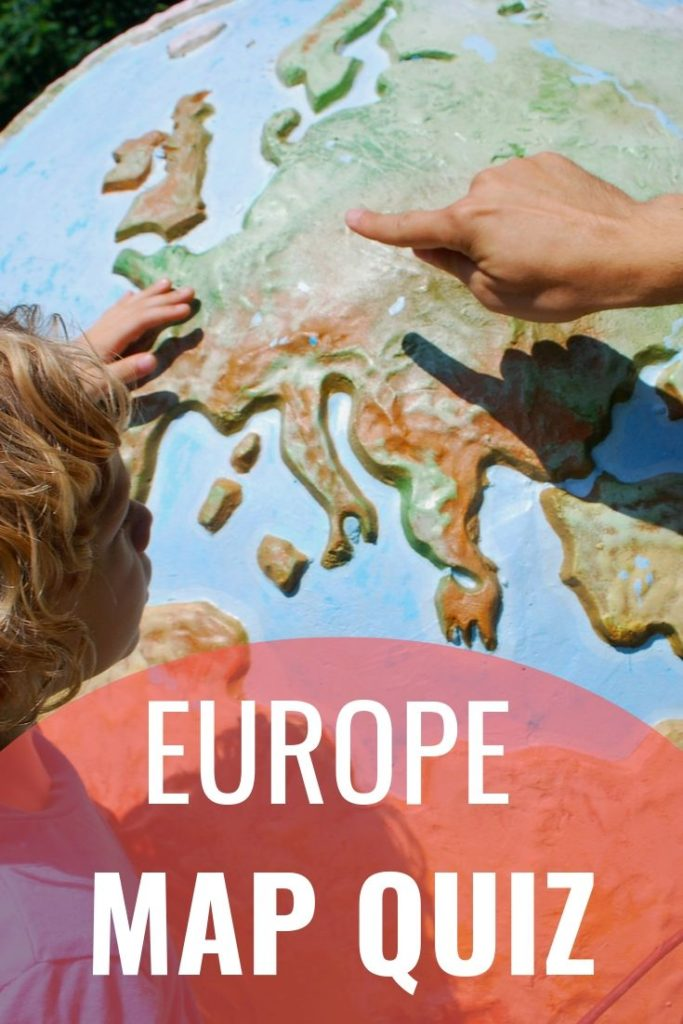 Europe Map Quiz - 197 TravelStamps