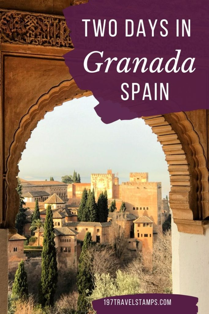 How to spend two days in Granada Spain - we created the perfect itinerary to explore Granada in 2 days. We will show you the best places to see in Granada and much more #granada