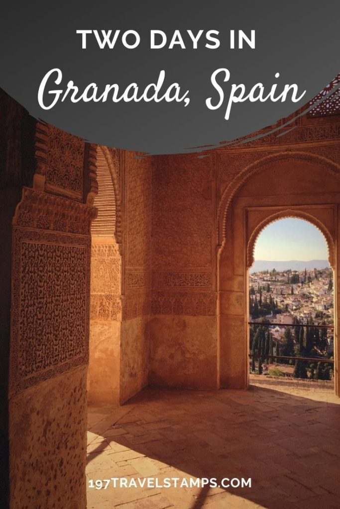 The ideal Granada itinerary to explore the city in two days. All the best things to do, the Alhambra, Sacromonte, Albaicín, Granada travel tips, hotel recommendation and more