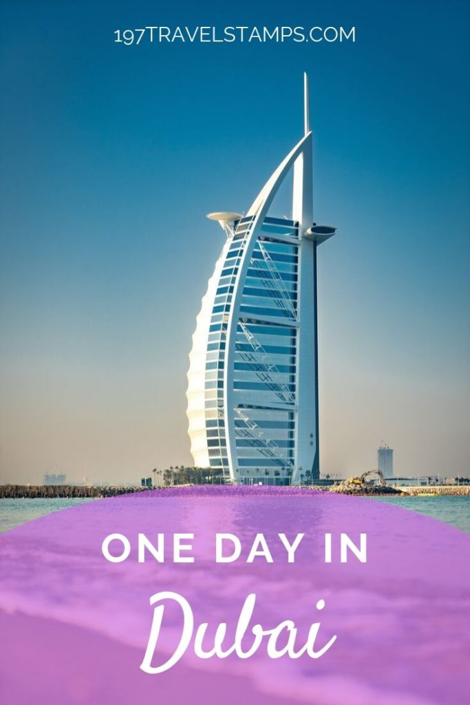 What to do if you have only one day in Dubai - we have got the perfect itinerary for you. Read all the things to do in Dubai and helpful travel tips