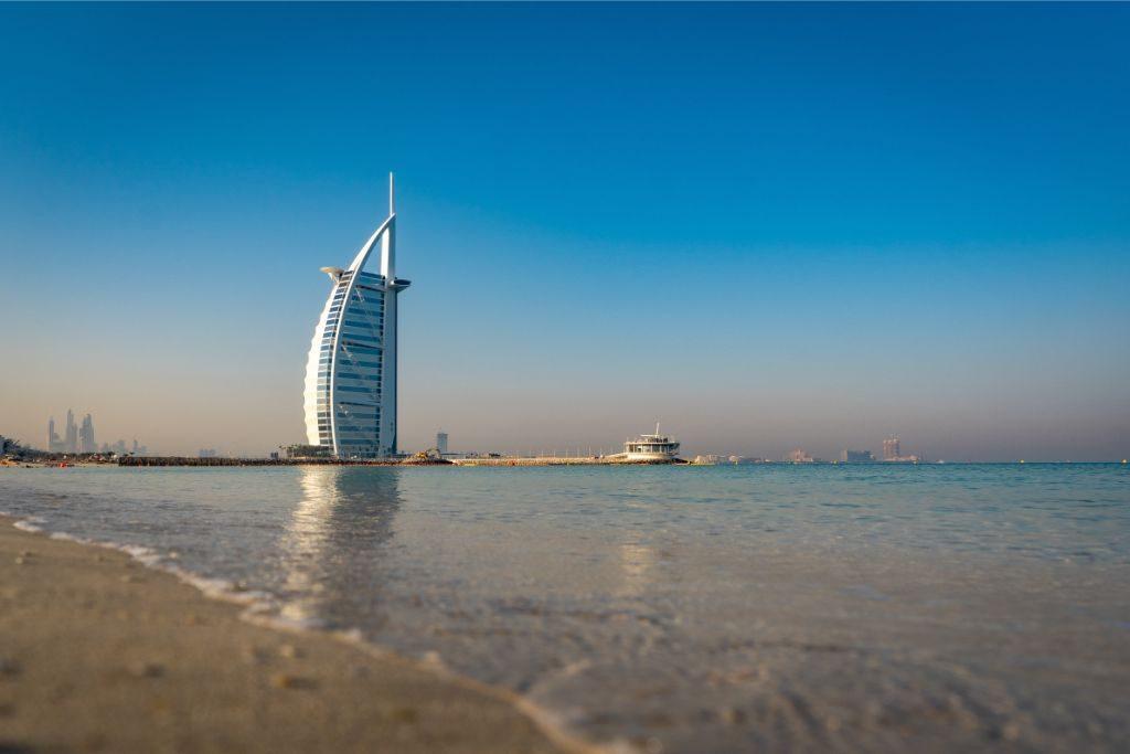 What to do in Dubai in a day - Visit Jumeirah Beach and the Burj Al Arab Hotel