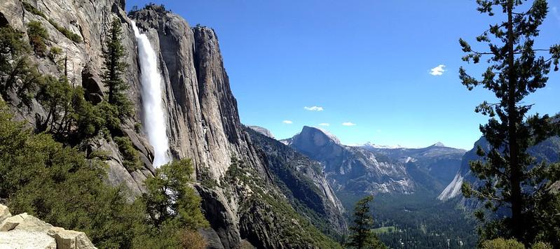 Yosemite Falls Hike in California